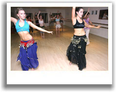 A workshop at one of our bellydance studios