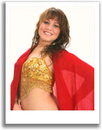 Amy: Belly dance instructor